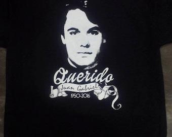 New Cult JUAN GABRIEL -Querido 1956 - 2016-  T shirt.  S to XXL