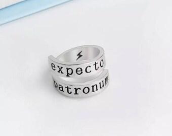 Expecto patronum ring