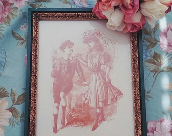 SALE framed couple in love