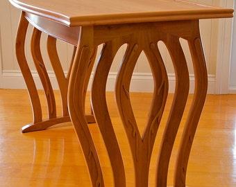 Tasmanian Myrtle Table - Award Winning Design & Handmade By Will Marx. Fully Customisable Mid Century Classic | Worldwide Shipping