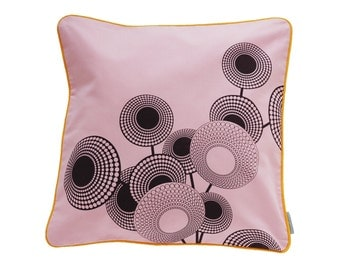 Pillowcase HOPE, Pink / Purple, 50 x 50 cm (without filling)