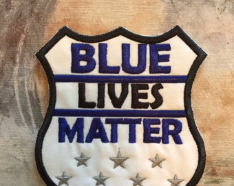 Blue Lives Matter Patch, Blue Lives Matter,