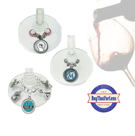 FLORIDA Wine or Bottle Charms, Napkin Rings, Set of 6, U Choose Style +FREE SHiPPiNG & Discounts*