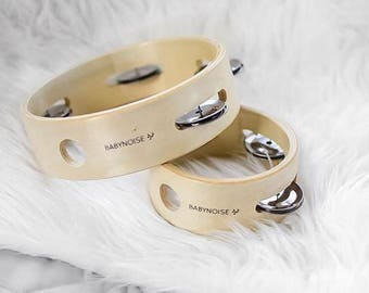 Mini and Large Tambourines