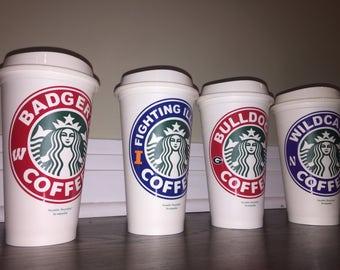 Collegiate Starbucks Tumbler