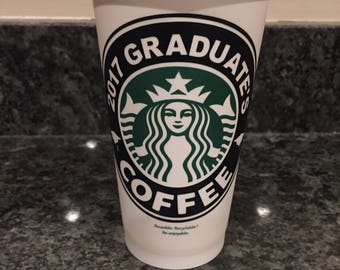 2017 Graduate Starbucks Tumbler