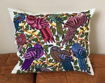 Fair Trade Guatemalan cushion cover