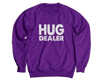 Hug Dealer Heather Sweatshirt