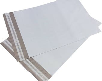 "100 Poly Mailers 7.5"" x 10.5"" Self Sealing Shipping Envelope"