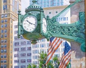 Marshall Fields, Macy's Chicago clock