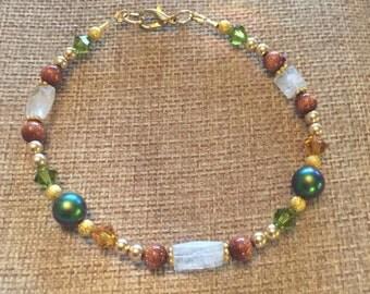 Plus size fall bracelet