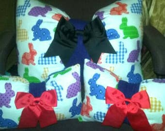 Bow Pillow Set