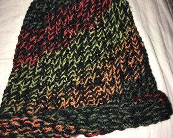 Fall sock hat