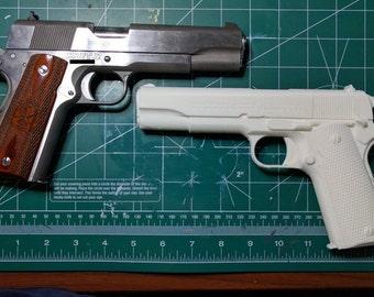 Colt 1911 Pistol Model 3D Printed Plastic Replica, Model Pistol FREE SHIPPING