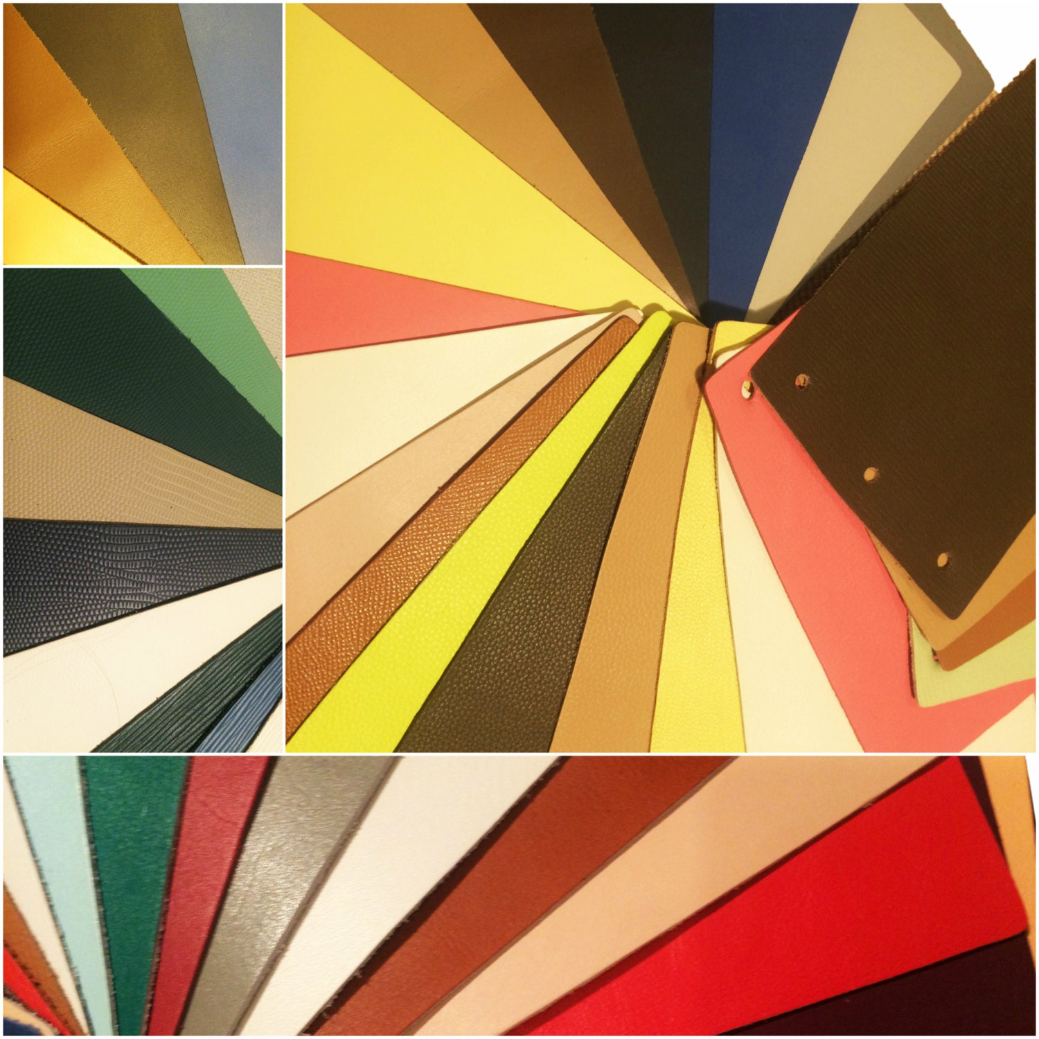 Leather pieces for crafts mixed colours 470g by for Leather sheets for crafting