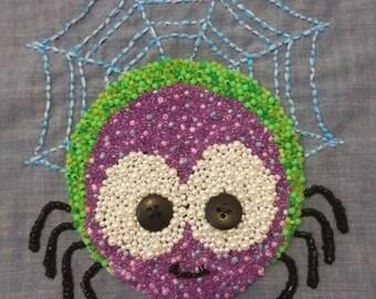 Incy wincy spider wall art framed