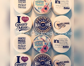 Music Lovers Chocolate Covered Cookies