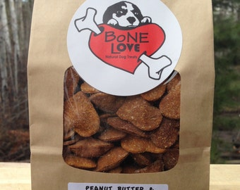 Combo Pack - 200 grams each of Maple/Bacon and Peanut Butter/Pumpkin Dog Treats