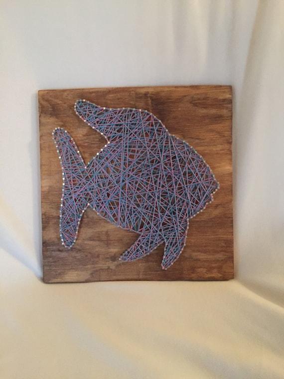 Fish string art for Fish string art