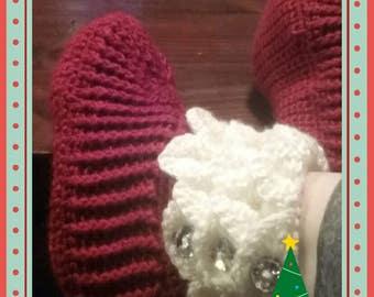 Custom crocodile slippers!