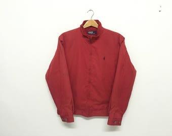 Sale!! Sale!! Vintage Polo Ralph Lauren Jacket Large Mens Rare