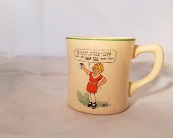 Little Orphan Annie Ovaltine mug