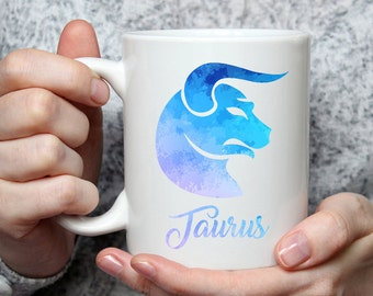 Taurus Mug - Zodiac Sign Coffee Mug Perfect Gift For Star Lovers