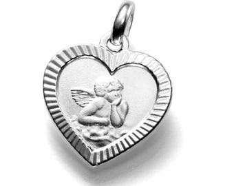 Charm 925 Silver guardian angel