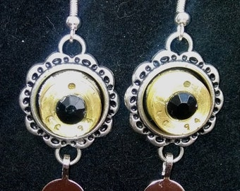 Hand Crafted Casing Earrings