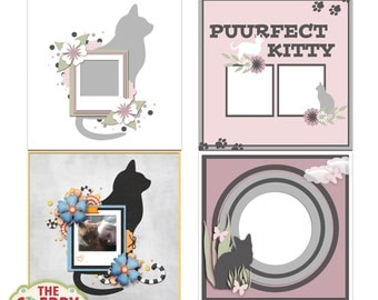 Puurfect Digital Scrapbooking Templates