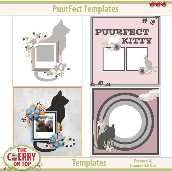 Puurfect Digital Scrapbooking Templates