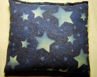 Blue Glitter Stars