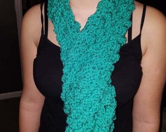 Flower Petal Stitch Scarf