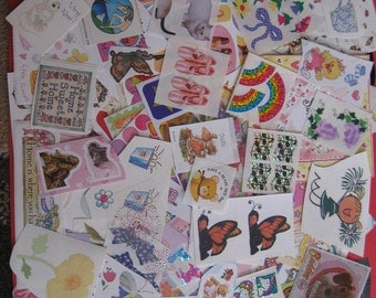 Lot of girl stickers 109 pieces!!