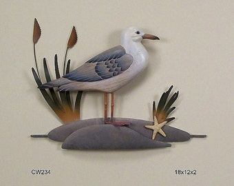Seagull Single Wall Sculpture = CW234