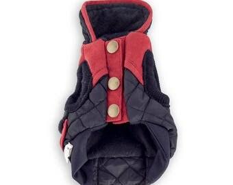 C. black jacket