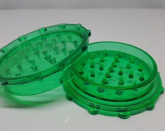 Clear Green Grinder