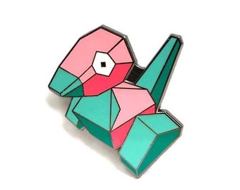 Porygon Lapel Pin