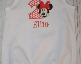 Minnie Mouse #2 Bubble- Portion of sales donated to Cure SMA