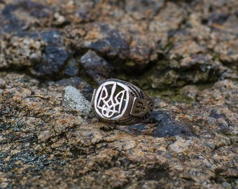 Silver ring, Sterling Silver Ring Handcrafted Jewelry, Weight 9.82g.