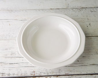 White Ceramic Bowl-Food Photography Props