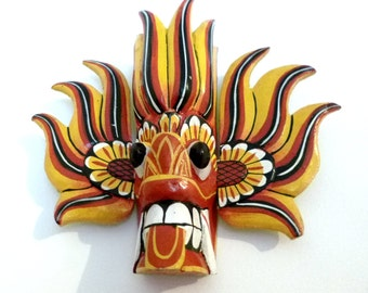 Sri Lanka Ambalangoda mask