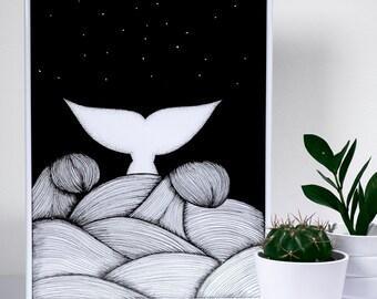 Ocean - art print