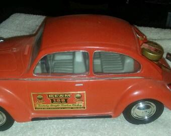 vintage 1973 Volkswagen model car whiskey decanter