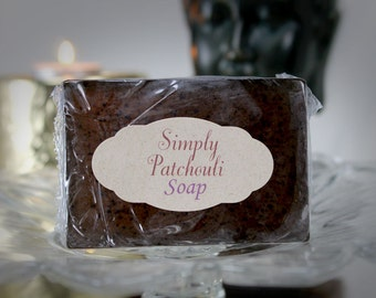 Simply Patchouli Glycerine Soap Goats Milk Soap