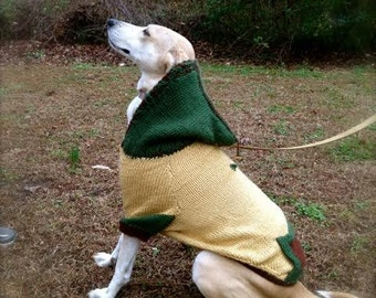 Hooded Dog Sweater (M)