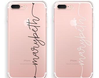 iPhone 7 Case Clear iPhone 7 Plus Case Personalized iPhone 6 Case iPhone 6s Case iPhone 6 Plus Case iPhone 6s Plus Case Custom Name Case