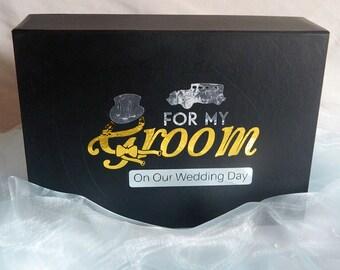 Groom Gift Box, Groom Box, Groom Wedding Gift, Groomsmen Gifts