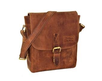 Leather bag, cross body bag, shoulder bag, Messenger bag, business bag, city of bag, rollover, cross body leather bag, small bag