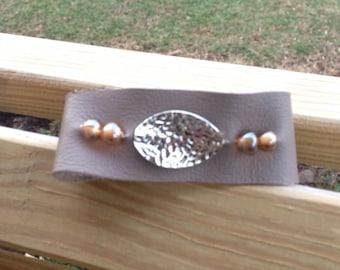 SALE-- Taupe Bracelet